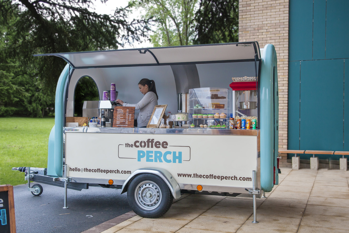 coffee pod the coffee perch mobile catering the coffee perch mobile catering. Black Bedroom Furniture Sets. Home Design Ideas